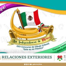 """XXV Children's Drawing Contest """"This is my Mexico"""""""